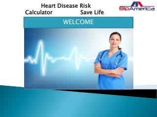 Heart Disease Risk Calculator Save Life