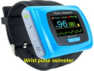 Wrist pulse oximeter and its usefulness.