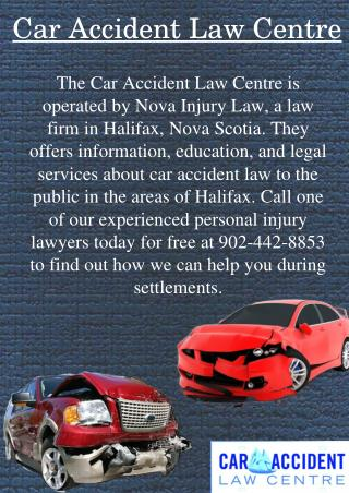 Personal Injury Settlements in Nova Scotia