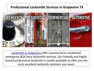 Grapevine locksmith