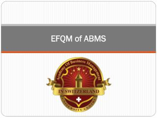 EFQM of ABMS