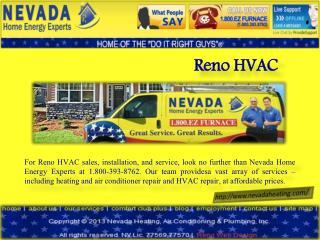 Reno Hvac