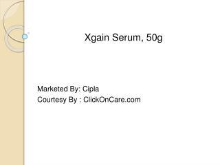 Xgain Serum - Cipla