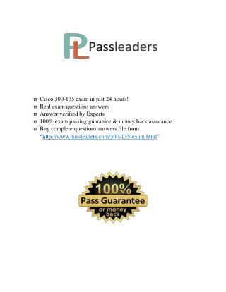 Passleader 300-135 Dumps