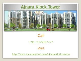 Ajnara Klock Tower Ultra Modern Project