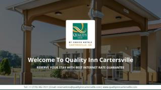 Pet Friendly Hotel near Cartersville GA - Quality Inn Cartersville