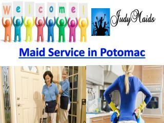 Affordable Maids Service in Potomac, MD