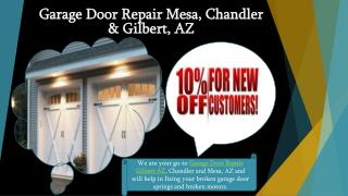 Garage Door Repair & Installation Services - Gilbert AZ