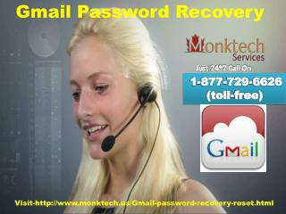 Gmail Password Recovery Free of cost Help Dial 1-877-729-6626 (tollfree)