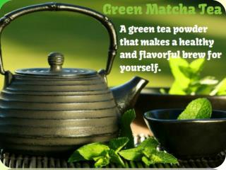 Some Health Benefits of Green Matcha Tea Shared by Craig Hochstadt