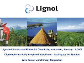 Lignocellulose-based Ethanol  Chemicals, Vancouver, January 13, 2009  Challenges in a fully integrated biorefinery   Sca