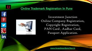 Online Trademark Registration Service In Pune