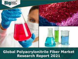 Global Polyacrylonitrile Fiber Market Research Report 2021 - Analysis, Size, Share, Growth, Trends, Forecast
