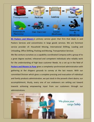 Packers and Movers Pune is leading firm for relocation services