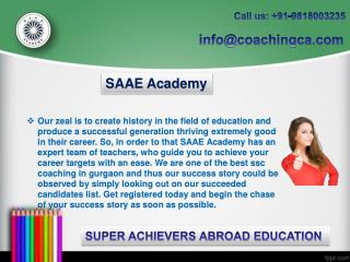 Best SSC coaching institute in Gurgaon