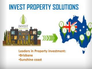 Property Investment - Brisbane Sunshine coast