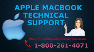 Macbook tech support number 1-800-261-4071