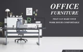 Which types of office furniture are best for office use?