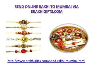 Send Rakhi to your Beloved one in Mumbai
