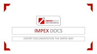 Export Documentation the Impex Way