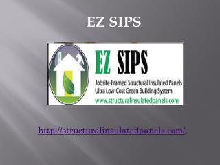 Green Construction | EZ SIPS
