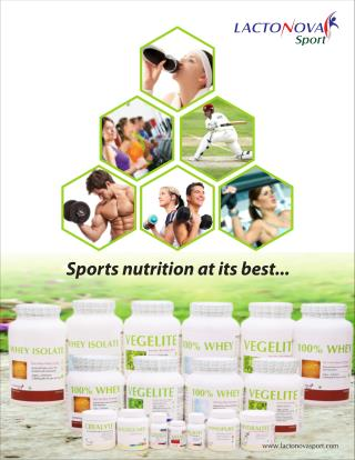 10 Best Sports Nutrition Supplements at Lactonova
