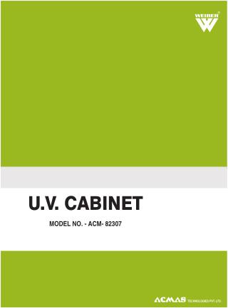 UV CABINET