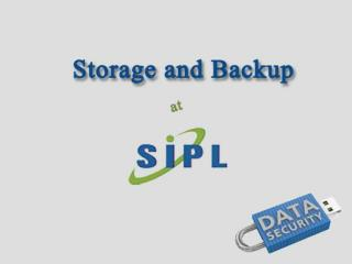 Storage Device and Backup at Silica Infotech Pvt Ltd.