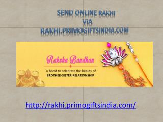 Send Rakhi Gifts Online with Rakhi Worldwide Delivery with Free Shipping!!