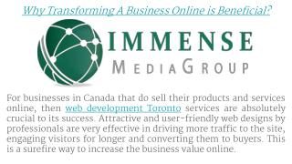Why Transforming A Business Online is Beneficial?
