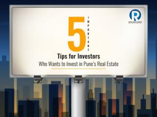 5 Most Important Tips For Investors