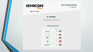 SEMICON West Media Impact Report by FullIntel