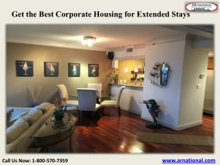 Get the Best Corporate Housing for Extended Stays