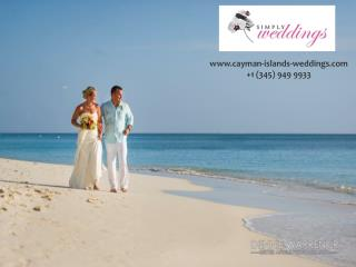 Effectively Organizing a Simple Destination Wedding in the Cayman Islands