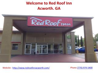 Hotels Near I-75 Highway in Acworth
