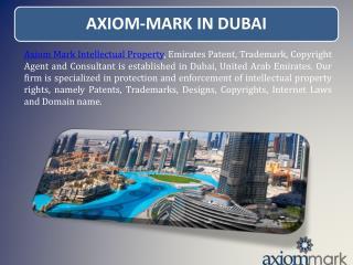 Axiom Mark in Dubai