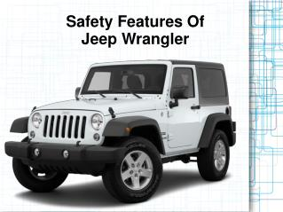 Safety Features Of Jeep Wrangler