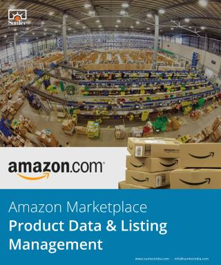 Amazon Marketplace Product Data & Listing Management