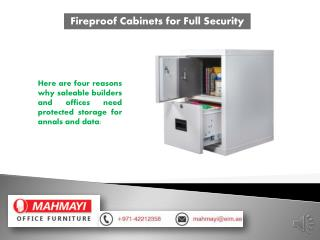 High Quality Fireproof Cabinets at Mahmayi