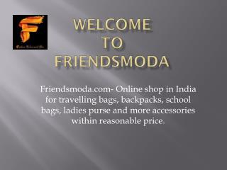 Online Backpack Shopping India