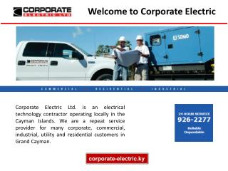 Top Reliable Electrical Contractors in the Cayman Islands