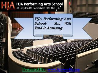 HJA Performing Arts School- You Will Find It Amusing