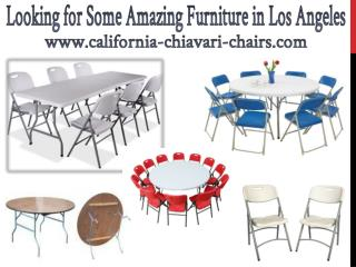Looking for Some Amazing Furniture in Los Angeles