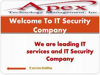 IT security Redding