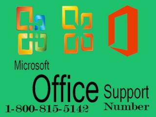 Microsoft Support Number resolve all Your Office Issues Immediately