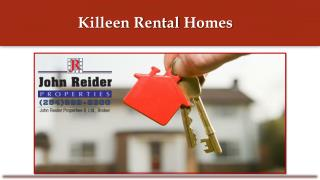 Killeen Rental Homes
