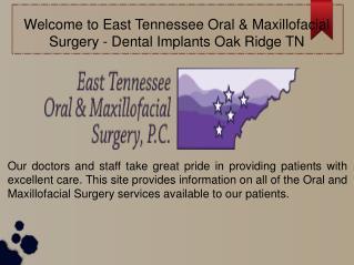 Dental Implants Oak Ridge TN