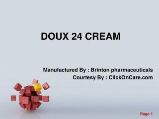 Doux 24 cream