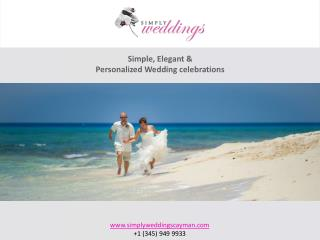 How to Host an Elegant yet Simple Wedding in the Cayman Islands