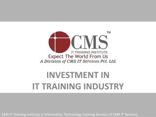 Investment in IT Training Industry